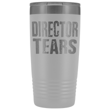Director Tears - 20oz Stainless Steel Insulated Tumblers White Tumblers