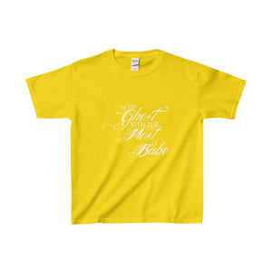 Ghost With The Most Babe - Youth Heavy Cotton Tee Daisy / Xs Kids Clothes