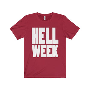 Hell Week - Unisex Jersey Short Sleeve Tee Canvas Red / Xs T-Shirt