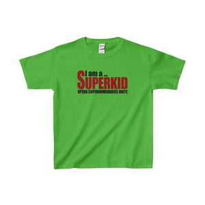 """I am a Superkid"" - Youth Heavy Cotton Tee - Theatre Geek Shirts & Apparel"