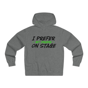 """I Prefer My Drama On Stage"" - Men's Lightweight Pullover Hooded Sweatshirt - Theatre Geek Shirts & Apparel"