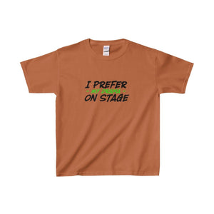 """I Prefer My Drama On Stage"" - Youth Heavy Cotton Tee - Theatre Geek Shirts & Apparel"