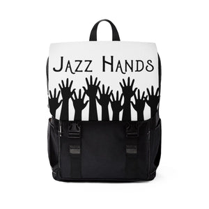 Jazz Hands - Unisex Casual Shoulder Backpack One Size Bags