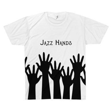 Jazz Hands - Unisex Tee Xs All Over Prints