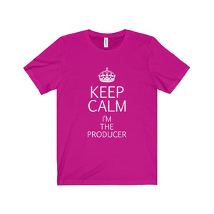 """KEEP CALM I'm the Producer"" - Unisex Jersey Short Sleeve Tee - Theatre Geek Shirts & Apparel"