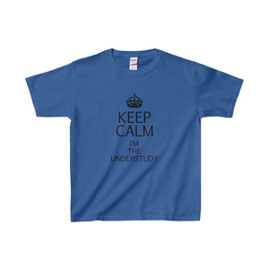 """KEEP CALM I'm the Understudy"" - Youth Heavy Cotton Tee - Theatre Geek Shirts & Apparel"