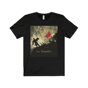 Les Miserables Barricade Shirt - Unisex Jersey Short Sleeve Tee Black / Xs Men Women T-Shirt