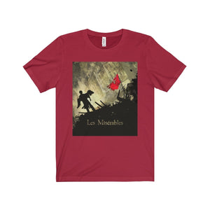 Les Miserables Barricade Shirt - Unisex Jersey Short Sleeve Tee Canvas Red / Xs Men Women T-Shirt