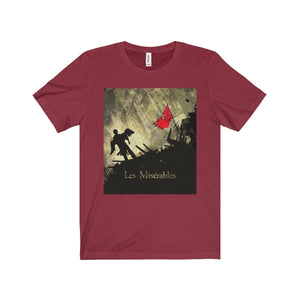 Les Miserables Barricade Shirt - Unisex Jersey Short Sleeve Tee Cardinal / Xs Men Women T-Shirt
