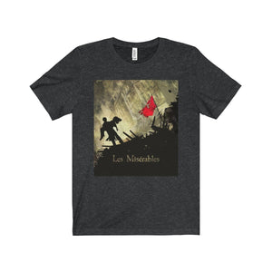 Les Miserables Barricade Shirt - Unisex Jersey Short Sleeve Tee Dark Grey Heather / Xs Men Women T-Shirt