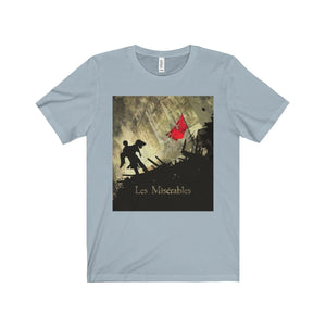 Les Miserables Barricade Shirt - Unisex Jersey Short Sleeve Tee Light Blue / Xs Men Women T-Shirt