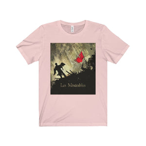Les Miserables Barricade Shirt - Unisex Jersey Short Sleeve Tee Soft Pink / Xs Men Women T-Shirt