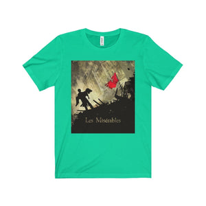 Les Miserables Barricade Shirt - Unisex Jersey Short Sleeve Tee Teal / Xs Men Women T-Shirt