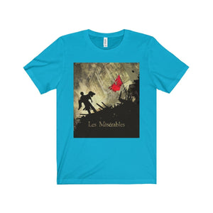 Les Miserables Barricade Shirt - Unisex Jersey Short Sleeve Tee Turquoise / Xs Men Women T-Shirt