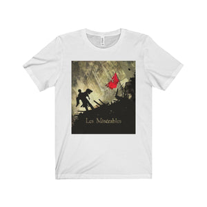 Les Miserables Barricade Shirt - Unisex Jersey Short Sleeve Tee White / S Men Women T-Shirt