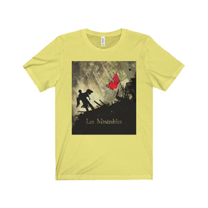 Les Miserables Barricade Shirt - Unisex Jersey Short Sleeve Tee Yellow / Xs Men Women T-Shirt