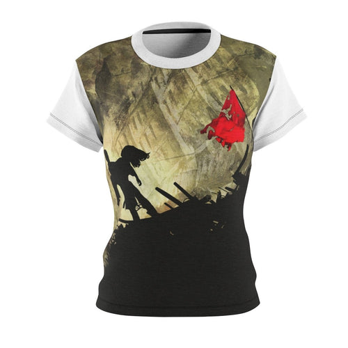 Les Miserables Shirt - Womens Tee 4 Oz. / Black Seams Xs All Over Prints