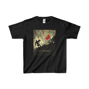 Les Miserables Barricade Shirt - Youth Heavy Cotton Tee Black / Xs Kids Clothes