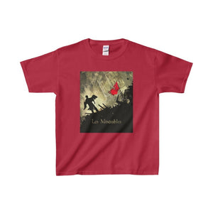Les Miserables Barricade Shirt - Youth Heavy Cotton Tee Cardinal Red / Xs Kids Clothes