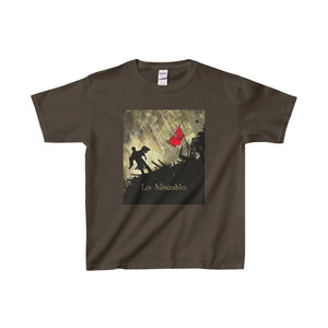 Les Miserables Barricade Shirt - Youth Heavy Cotton Tee Dark Chocolate / Xs Kids Clothes