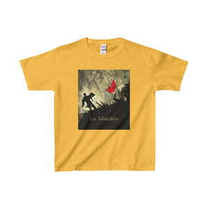 Les Miserables Barricade Shirt - Youth Heavy Cotton Tee Gold / Xs Kids Clothes