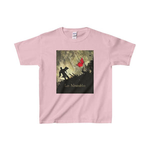 Les Miserables Barricade Shirt - Youth Heavy Cotton Tee Light Pink / Xs Kids Clothes