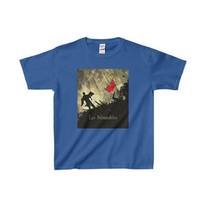Les Miserables Barricade Shirt - Youth Heavy Cotton Tee Royal / Xs Kids Clothes