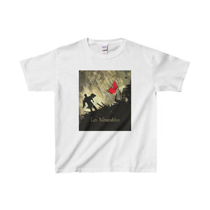 Les Miserables Barricade Shirt - Youth Heavy Cotton Tee White / Xs Kids Clothes