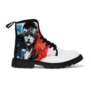 Les Miserables Cosette And French Flag - Mens Martin Boots Men Shoes Shoes
