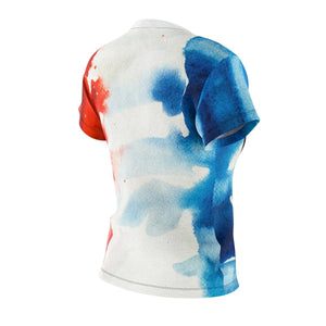 Les Miserables Cosette And French Flag - Womens Tee Women All Over Prints
