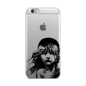 Les Miserables Cosette - Clear Iphone Case 6 Plus/6S Plus