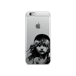 Les Miserables Cosette - Clear Iphone Case 6/6S