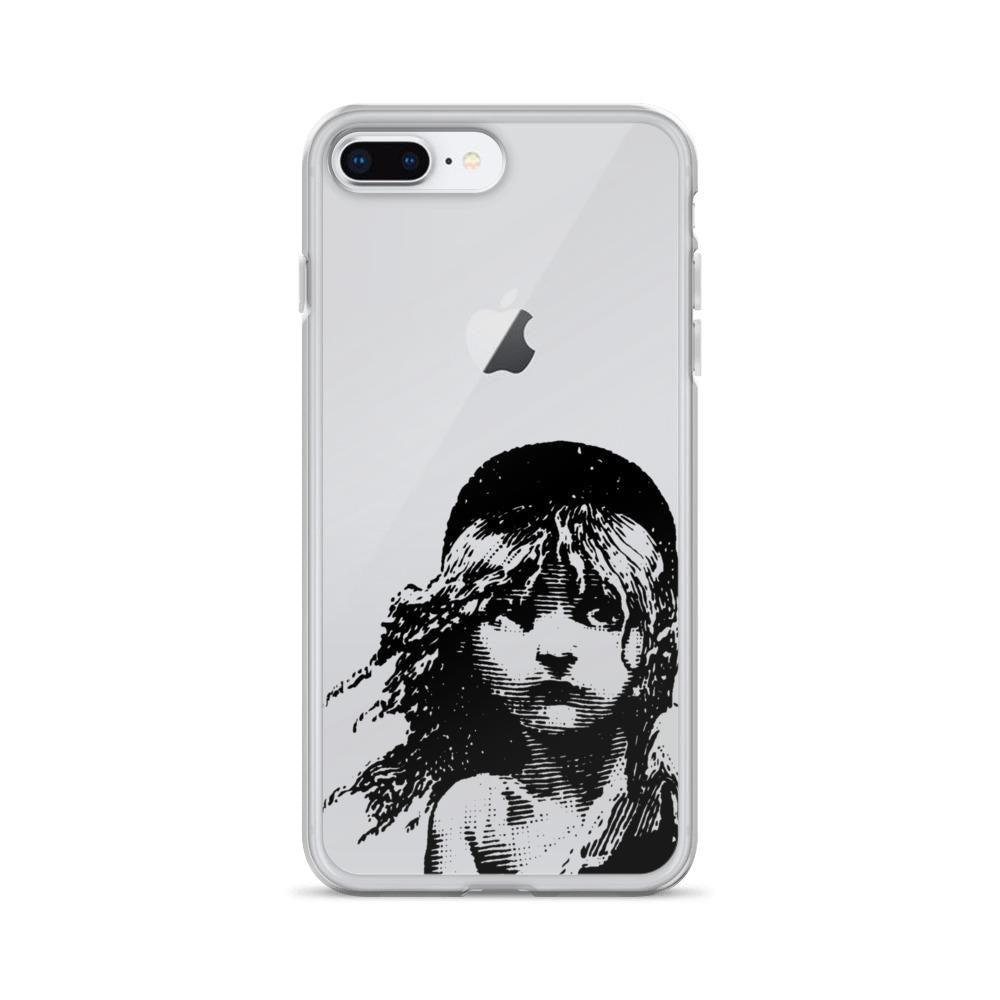 Les Miserables Cosette - Clear Iphone Case 7 Plus/8 Plus