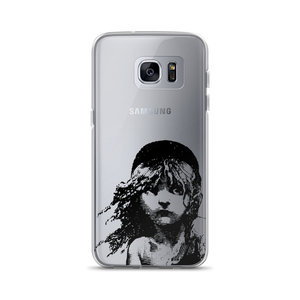 Les Miserables Cosette - Clear Samsung Case Galaxy S7 Edge