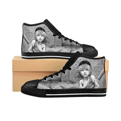 Les Miserables Cosette - Mens High-Top Sneakers Us 10 Men Shoes