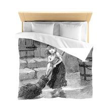 Les Miserables Cosette - Microfiber Duvet Cover Queen / White Home Decor