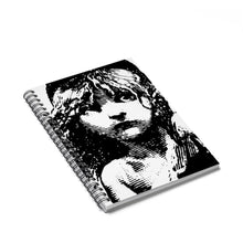 "Les Miserables ""Cosette"" - Spiral Notebook - Ruled Line - Theatre Geek Shirts & Apparel"