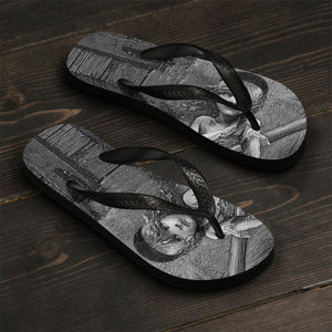Les Miserables Cosette - Unisex Flip-Flops Large Men Women Shoes