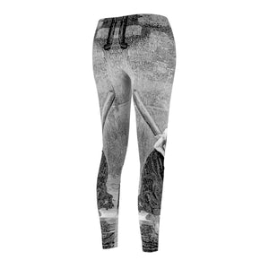 Cosette - Womens Casual Leggings All Over Prints
