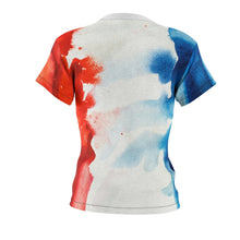 Les Miserables Marius And French Flag - Womens Tee Women All Over Prints