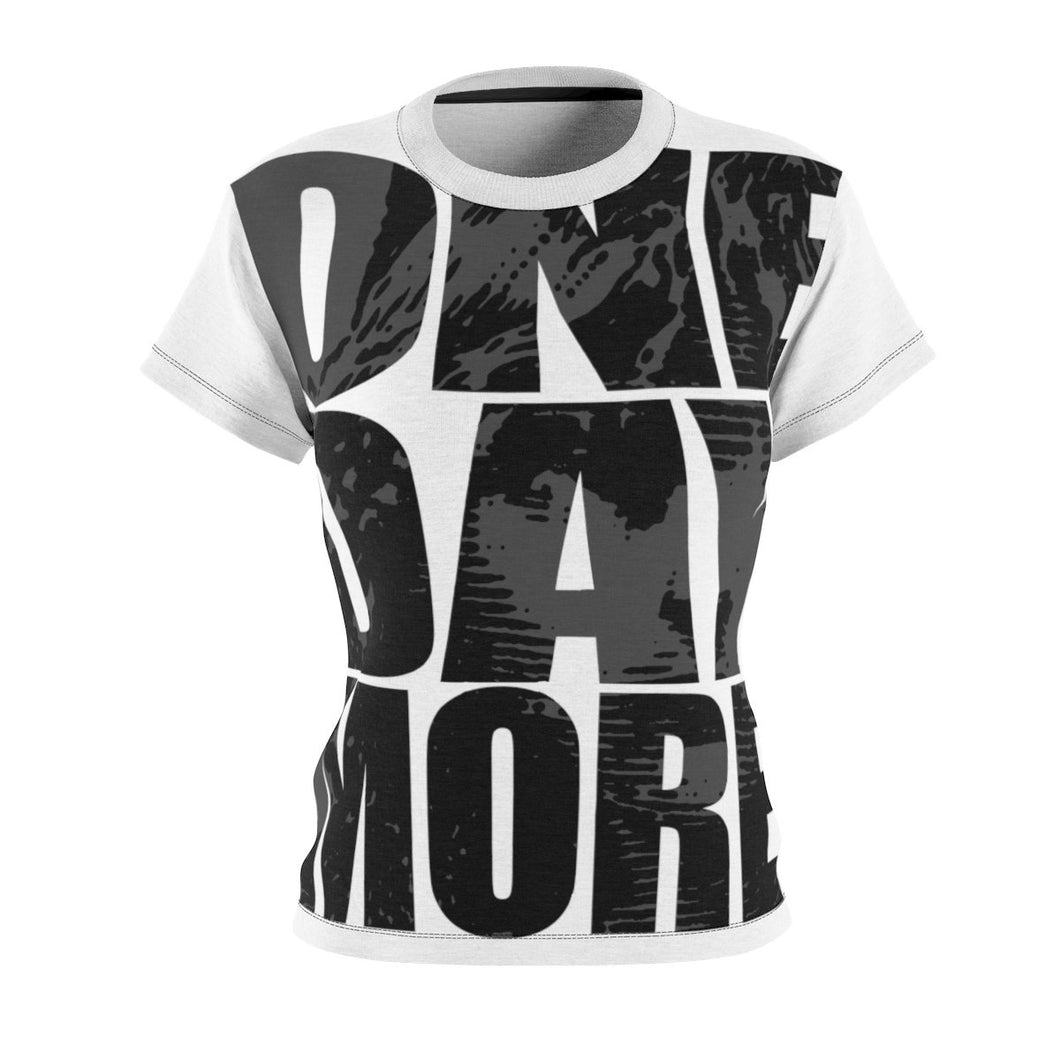 Les Miserables One Day More Shirt - Womens Tee 4 Oz. / Black Seams Xs All Over Prints