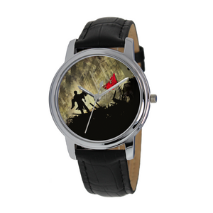 Les Miserables Quartz Watch With Leather Band