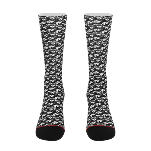 Les Miserables Tiled Cosette - Unisex Socks