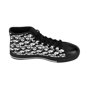 Les Miserables Tiled Cosette - Womens High-Top Sneakers Women Shoes