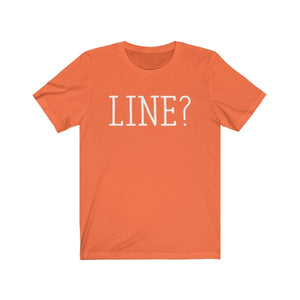 Line - Unisex Jersey Short Sleeve Tee Orange / Xs Men Women T-Shirt