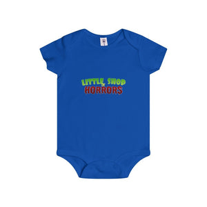 Little Shop Of Horrors - Infant Rip Snap Tee 12M / Royal Kids Clothes