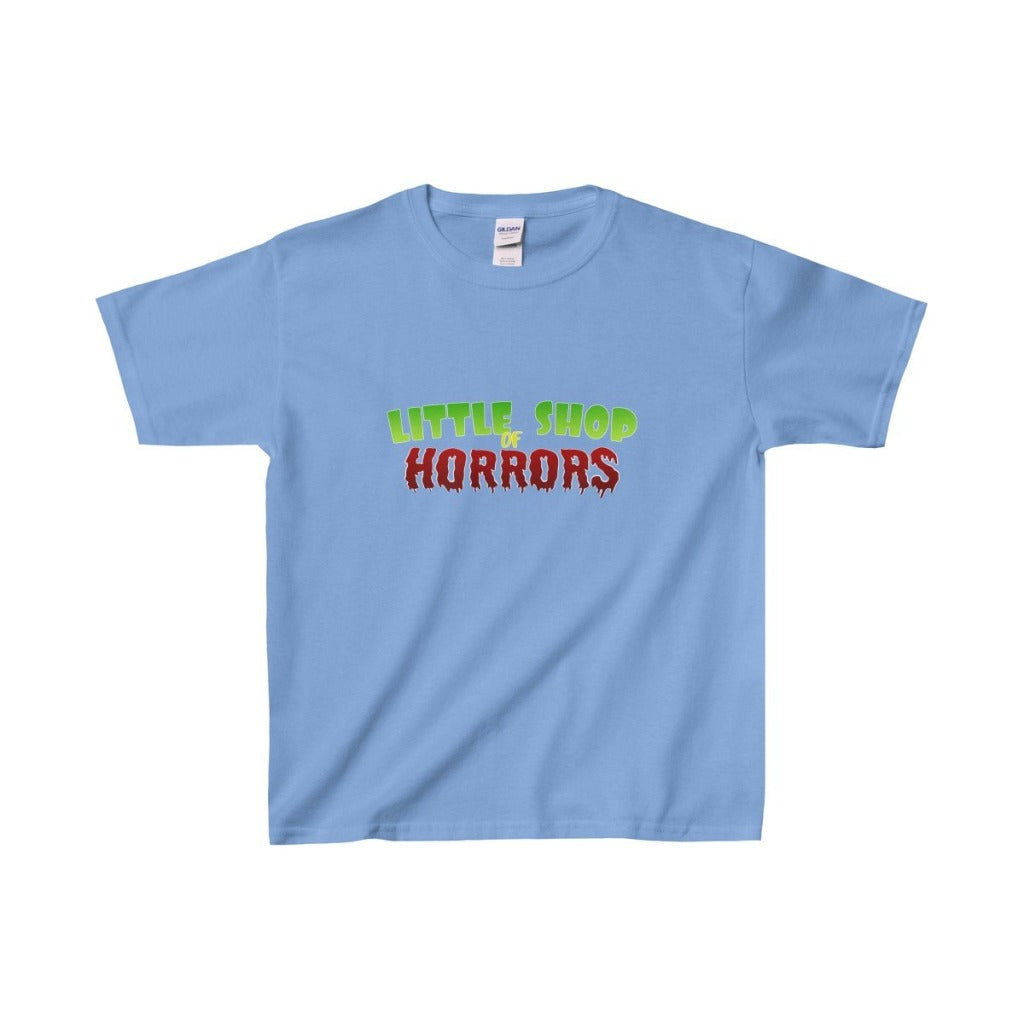 Little Shop Of Horrors - Youth Heavy Cotton Tee Carolina Blue / Xs Kids Clothes