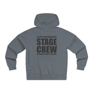 """Magnificent Stage Crew"" - Men's Lightweight Pullover Hooded Sweatshirt - Theatre Geek Shirts & Apparel"