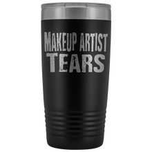 Makeup Artist Tears - 20oz Stainless Steel Insulated Tumblers Black Tumblers