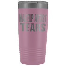 Makeup Artist Tears - 20oz Stainless Steel Insulated Tumblers Light Purple Tumblers